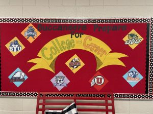 Counselor's Bulleting Board - Preparing for College and Careers